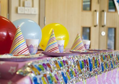 Creche Birthday Party